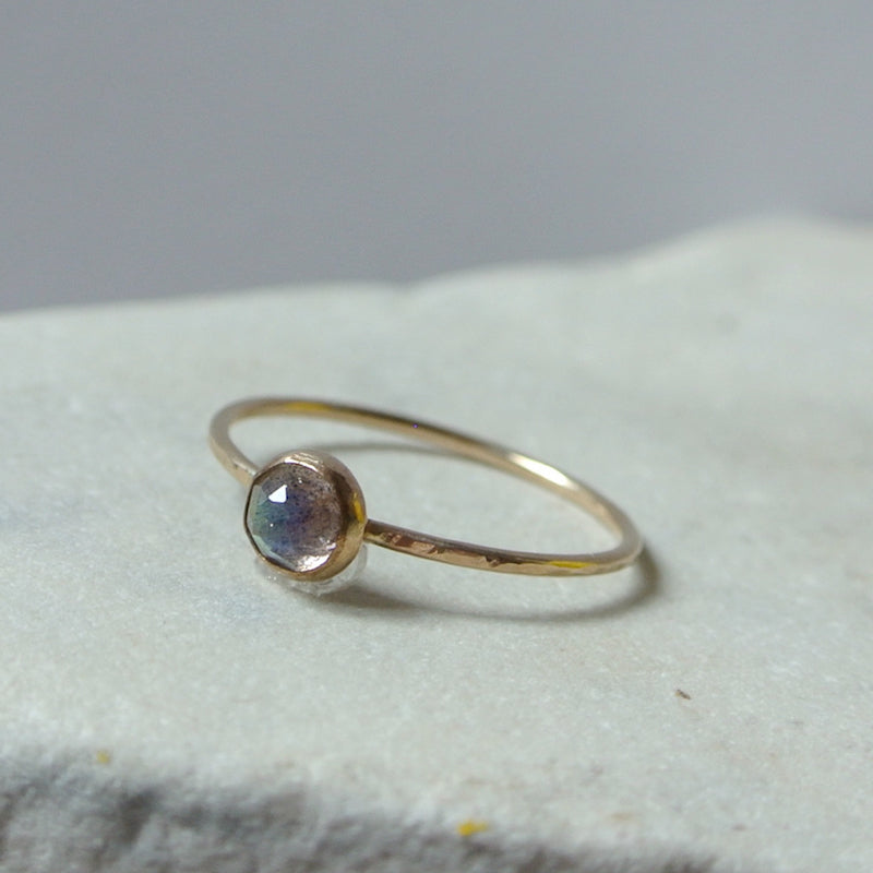 Labradorite Essential Energy Ring - Protective