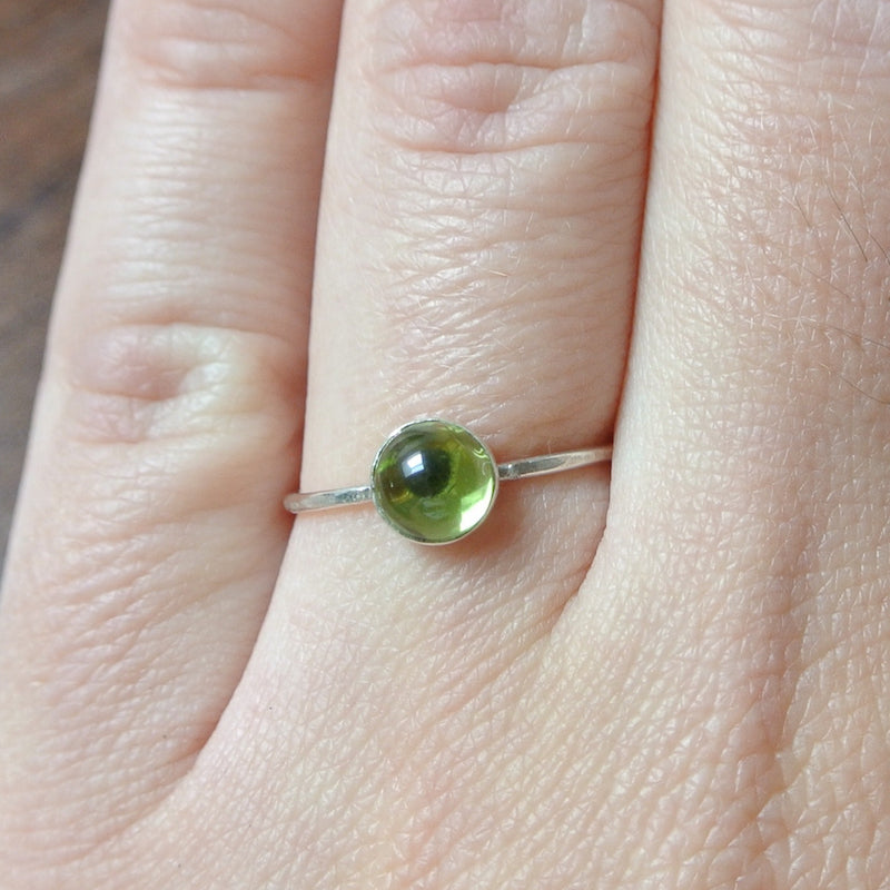 Peridot Essential Energy Ring - Cleansing