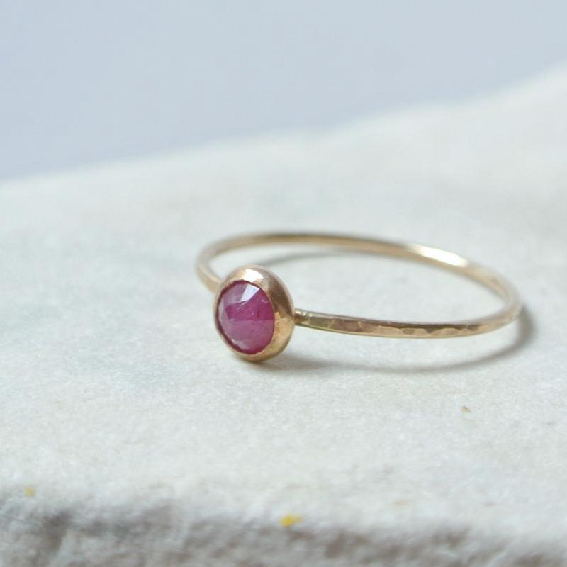 Ruby Essential Energy Ring - Passion