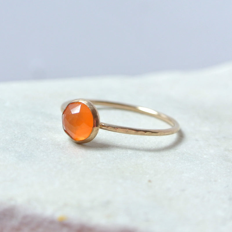 Carnelian Essential Gemstone Ring