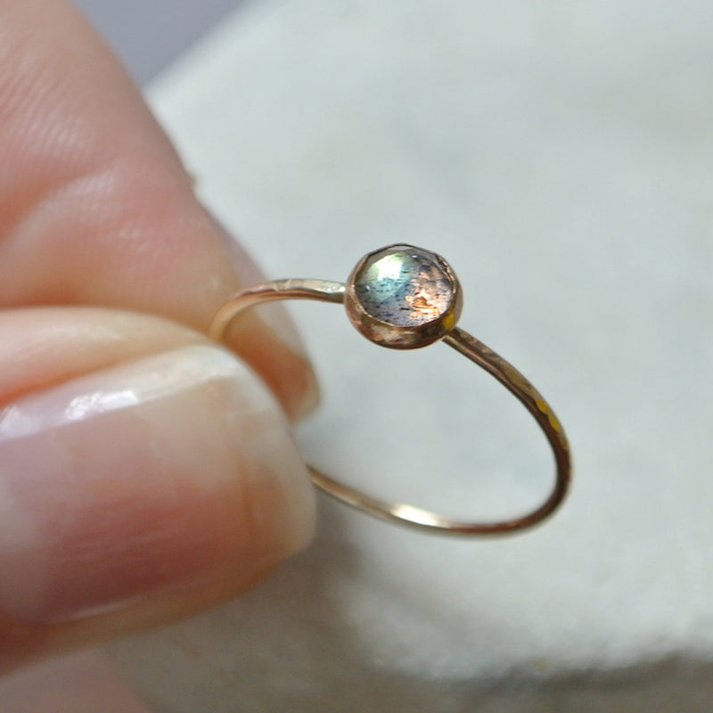 Labradorite Essential Gemstone Ring
