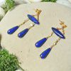 Alexandra Earrings - Daytime Blue
