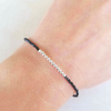 Essential Energy Bracelet - Black Spinel