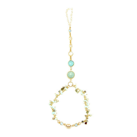 Alexandra Necklace- Daytime Blue