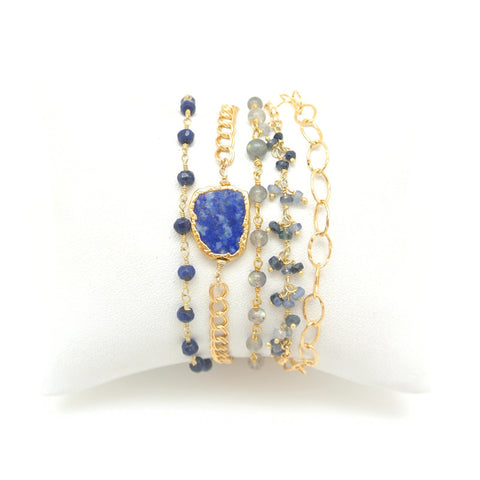 Wrap Bracelet- Sweet Blue