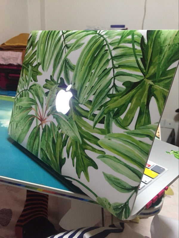 Summer Tropical Macbook sticker skin cover (Customer Pictures)