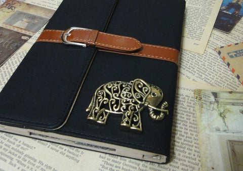 Hollow Ornate Elephant Retro iPad Case Cover - CaseCarnival- iPad Cases