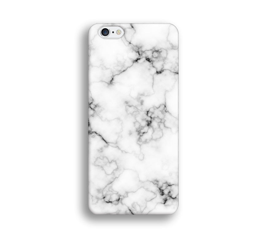 low priced 08f36 1b8f5 White Marble Print Phone Cases for Apple iPhone, Samsung Galaxy, LG