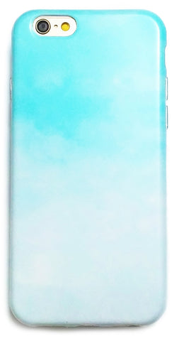 Apple iPhone 6/6s and Plus Case - Mint Watercolor Mist - CaseCarnival