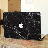 Macbook Decal Sticker - Black Marble - CaseCarnival- Macbook Decal Sticker