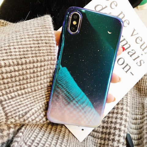Aurora Starry Sky iPhone Cases - CaseCarnival- Design Cases