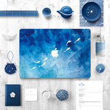 Macbook Skin Decal Sticker - Fishes - CaseCarnival