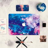 Macbook Skin Decal Sticker - Nebula - CaseCarnival- Macbook Decal Sticker