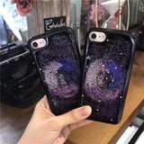 Milky Way GALAXY Glitter iPhone 6/6s/7 and Plus Case - CaseCarnival- Design Cases