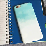Apple iPhone 6/6s and Plus Case - Mint Watercolor Mist