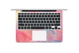 Macbook Skin Decal Sticker - Pink Mist Marble - CaseCarnival- Macbook Decal Sticker