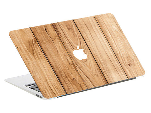 Macbook Skin Decal Sticker - Wood Print - CaseCarnival- Macbook Decal Sticker