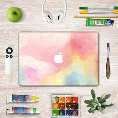 Macbook Skin Decal Sticker - Pink Painting