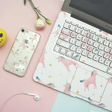 Unicorn iPhone X / 6 / 6s / 7 / 8 and Plus Case - CaseCarnival- Design Cases