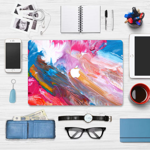 Macbook Skin Decal Sticker - Color Painting - CaseCarnival- Macbook Decal Sticker