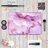Macbook Skin Decal Sticker - Purple Marble - CaseCarnival- Macbook Decal Sticker