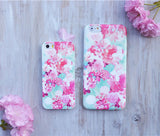 Flora Flower Case, Summer Japan Spring Cherry Blossom Sakura Flower iphone case fit Apple iPhone 5, iPhone 6 , iPhone6 Plus - CaseCarnival- Design Cases
