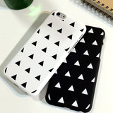 Triangle Pattern Case Cover for iPhone 5/5s, iPhone 6/6s , iPhone 6/6s Plus - CaseCarnival- Design Cases