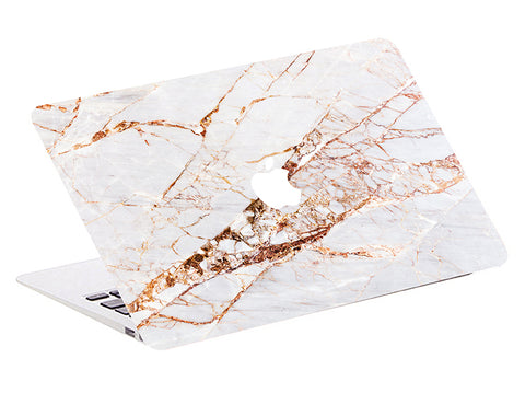 free shipping 470cf 4a509 Macbook Skin Marble Decal Sticker - Rose Gold Pink Marble