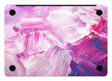 Macbook Skin Decal Sticker - Purple Pink Painting - CaseCarnival- Macbook Decal Sticker
