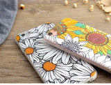 Apple iPhone 6/6s and Plus Case - Sunflower - CaseCarnival