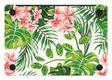 Macbook Skin Decal Sticker - Floral Tropical Leaves - CaseCarnival- Macbook Decal Sticker