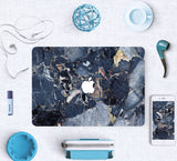 Macbook Skin Decal Sticker - Blue Marble - CaseCarnival- Macbook Decal Sticker