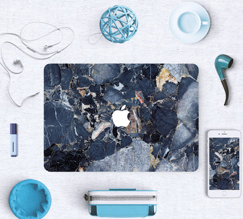 Macbook Skin Decal Sticker - Blue Marble - CaseCarnival