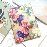 Floral Clear iPad Case Cover for iPad Air / Mini - CaseCarnival- iPad Design Cases