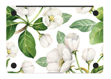 Macbook Skin Decal Sticker - Apple Flowers - CaseCarnival- Macbook Decal Sticker