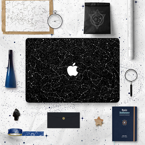 Macbook Skin Decal Sticker - Constellations - CaseCarnival- Macbook Decal Sticker