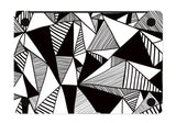 Macbook Skin Decal Sticker - Lines and Triangles - CaseCarnival
