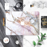 Macbook Skin Decal Sticker - Marble Stone - CaseCarnival