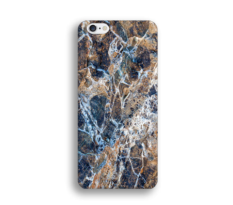 Icy Blue Marble Print Phone Cases for Apple iPhone, Samsung Galaxy, LG - CaseCarnival