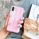 Glossy Aurora Marble Case for iphone - CaseCarnival- Design Cases