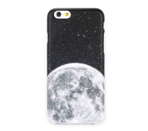 Dark Galaxy Clear Phone Cases fit Apple iPhone 5/5s/6/6s Plus - CaseCarnival