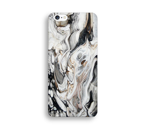White Marble Stone Print Phone Cases for Apple iPhone, Samsung Galaxy, LG - CaseCarnival- Design Cases