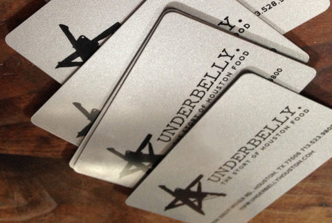 Underbelly Gift Card
