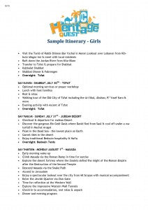 Sample Girls Itinerary CTeen Heritage Quest_Page_4