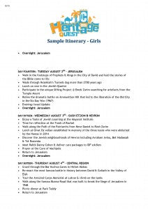 Sample Girls Itinerary CTeen Heritage Quest_Page_5