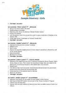 Sample Girls Itinerary CTeen Heritage Quest_Page_6
