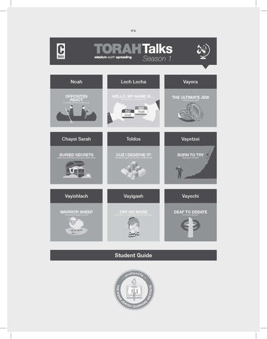 Torah Talks- Parshas Noach PDF