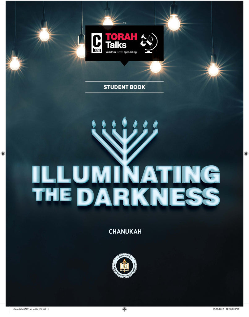JLI Holiday Series - Chanukah (Student Edition) - Illuminating the Darkness