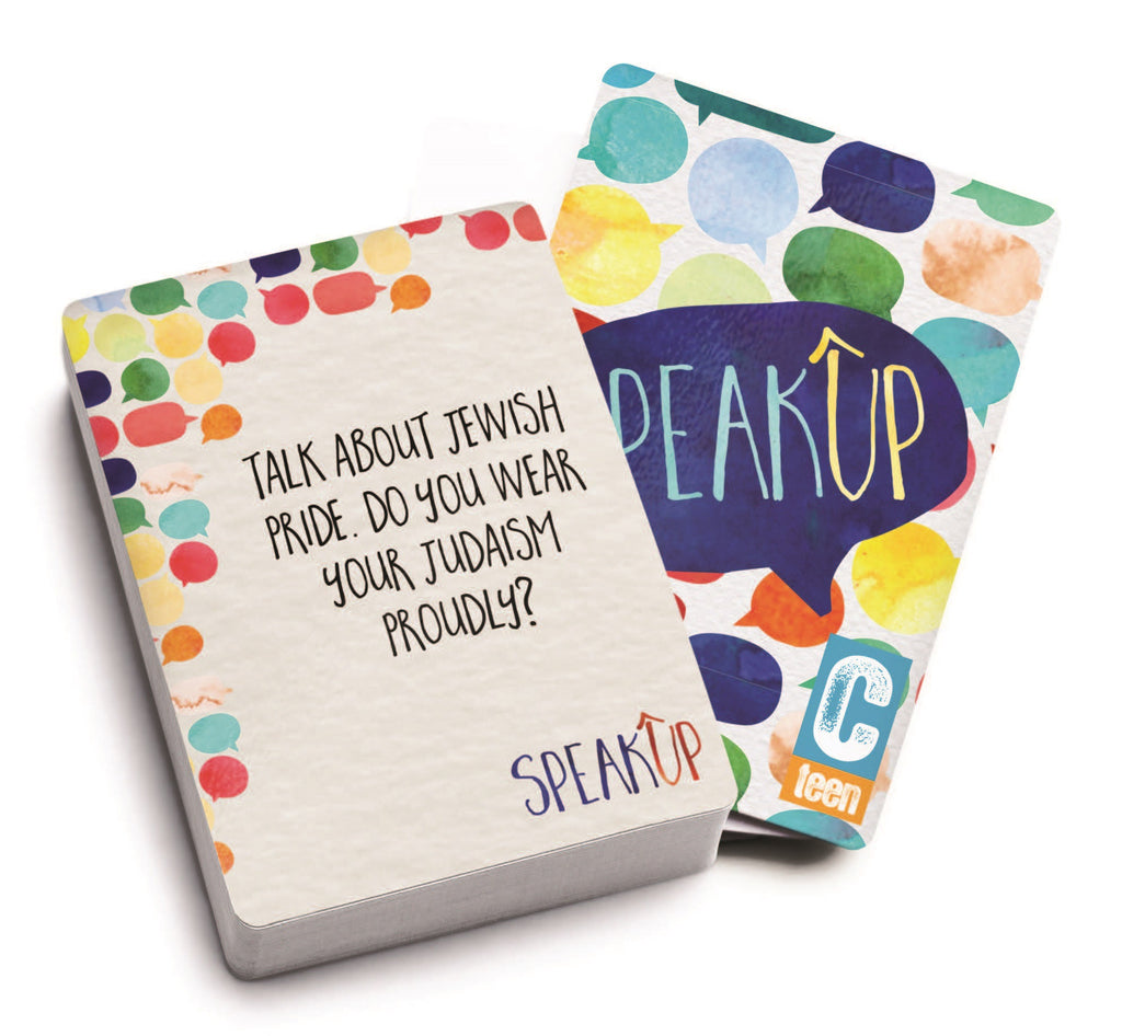 Speak Up Card Game