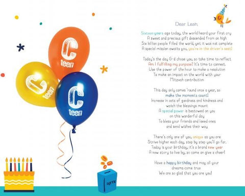 Personalized Birthday Packages